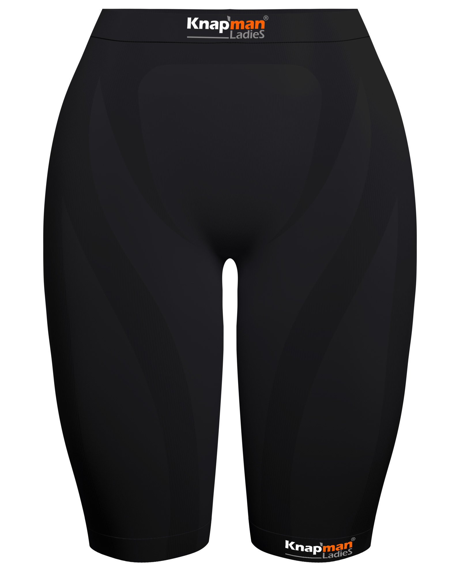 Knap'man Ladies Zoned Compression Short 45% zwart