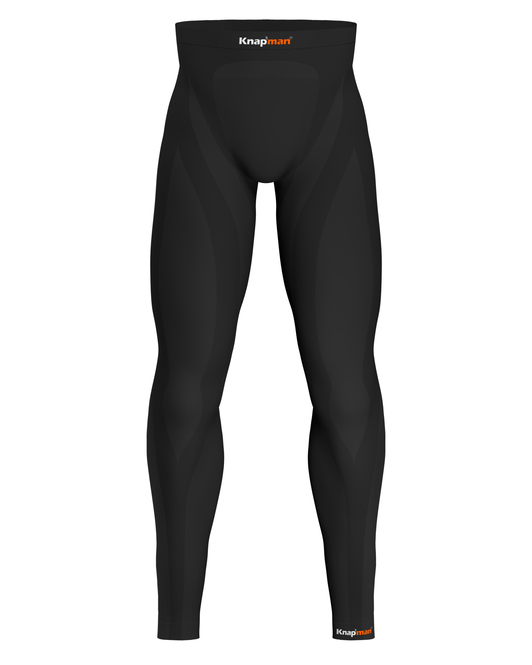 Knap'man Zoned Compression Pants Long 25% zwart