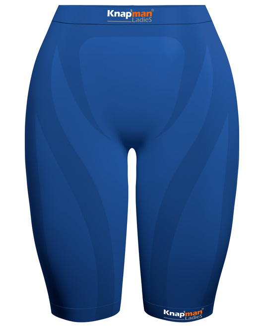 Knap'man Ladies Zoned Compression Short USP 45% royal blue